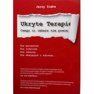 Jerzy Zięba - ukryte terapie - książka