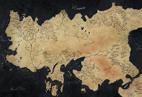 Mapy Śródziemia – wspaniała pasja