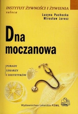 Książka dna moczanowa, która zawiera przydatne medyczne informacje